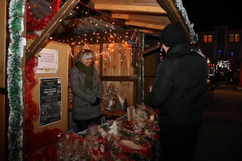 Gminny Ośrodek Kultury na Jarmarku Bożonarodzeniowym w Krapkowicach