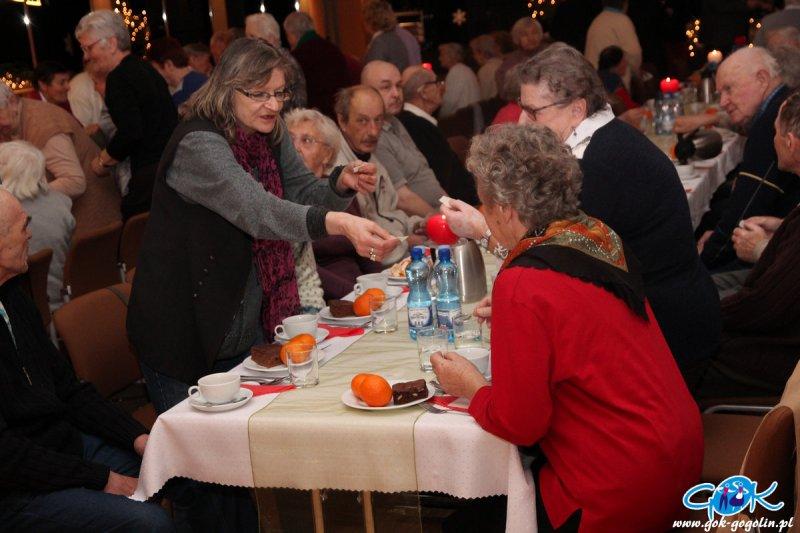 Spotkanie Opłatkowe dla osób starszych i samotnych
