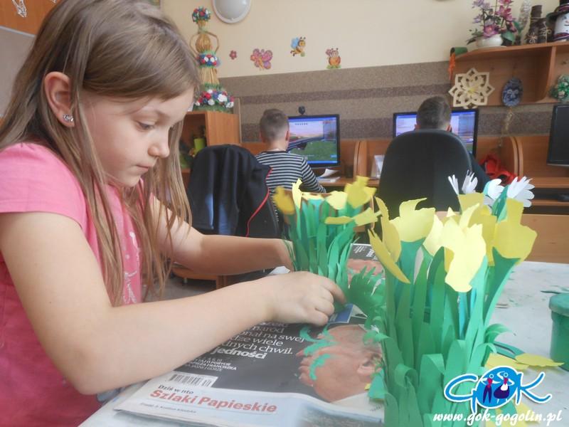 Odrowąż: Kwiaty dla mamy